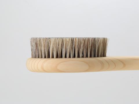 ボディブラシ,背中,豚毛,馬毛,日本製,天然毛,天然木,天然素材,